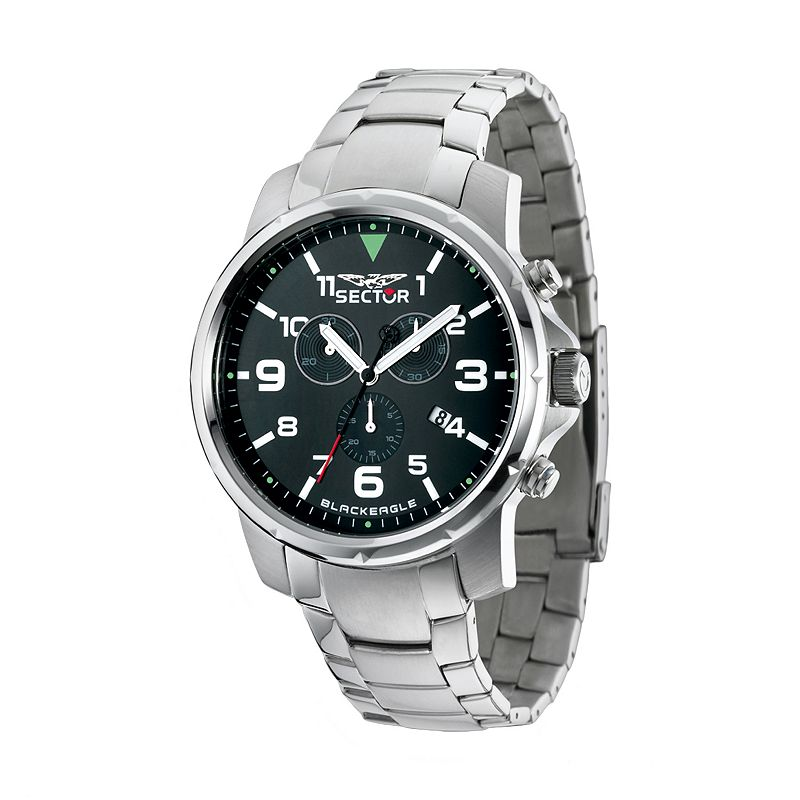 SECTOR Black Eagle Stainless Steel Chronograph Watch - R3273689001 - Men