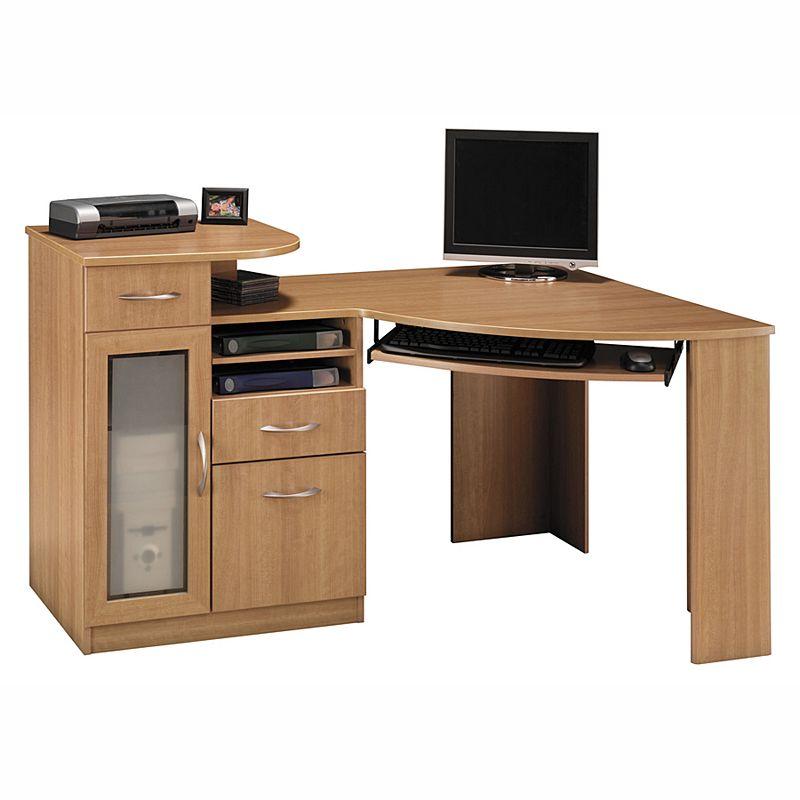 Corner shelf desk kohl 39 s - Corner desks with shelves ...