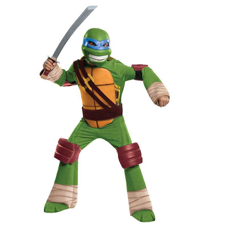 Teenage Mutant Ninja Turtles Leonardo Deluxe Costume - Kids