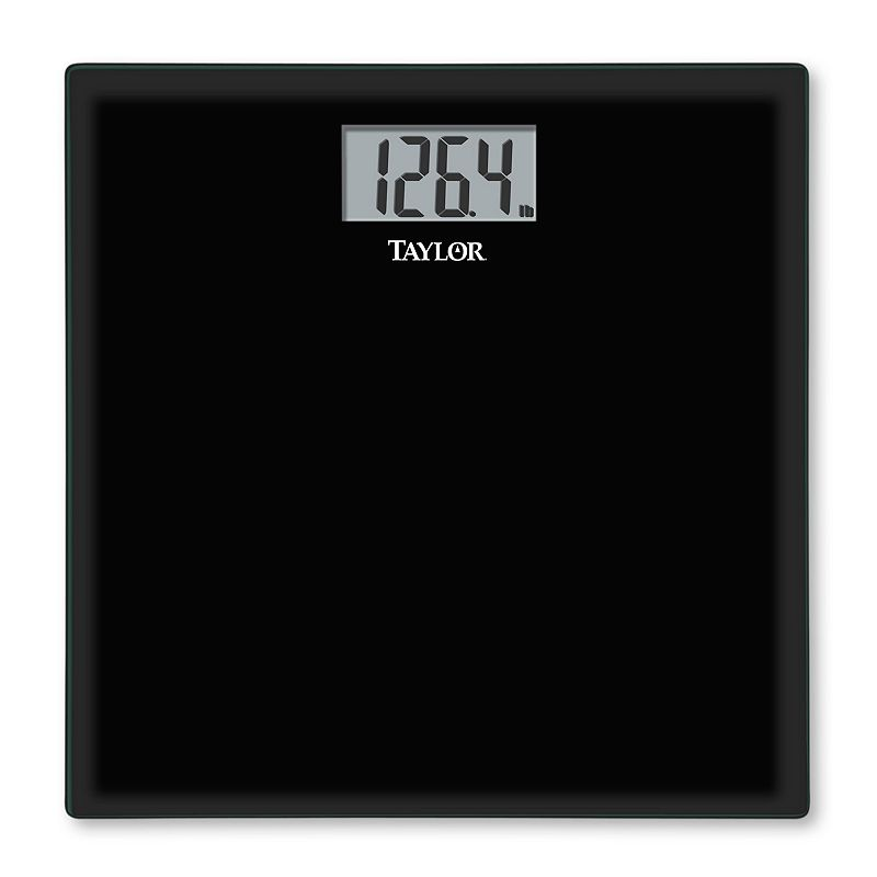 Taylor Glass Digital Bathroom Scale