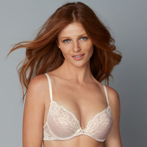 Maidenform Bra: Comfort Devotion Embellished Plunge Push-Up Bra 9443