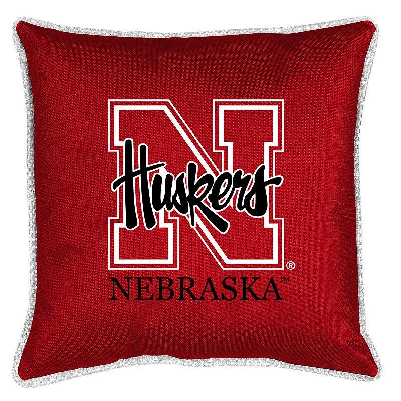 Nebraska Cornhuskers Decorative Pillow