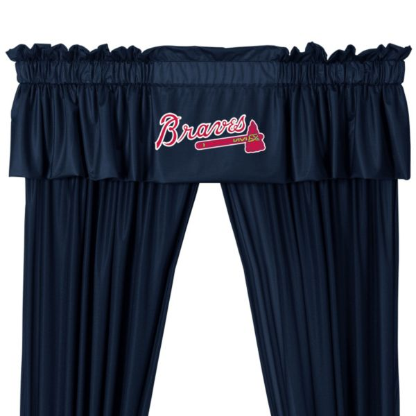 Atlanta Braves Valance - 14 x 88