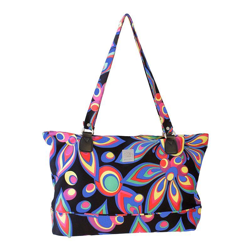 Jenni Chan Wild Flower Laptop Overnight Travel Bag