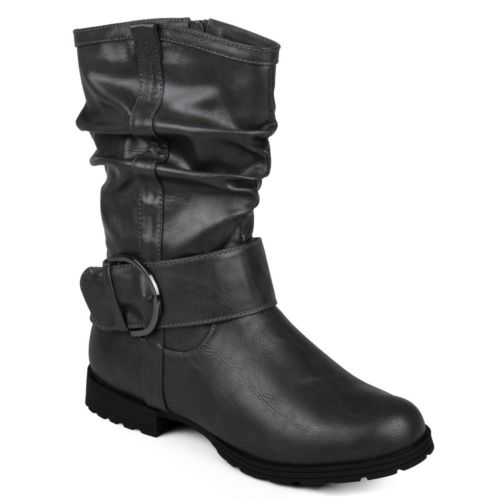 Journee Collection Keli Slouch Midcalf Boots - Women