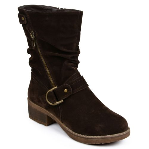 Journee Collection Attina Midcalf Boots - Women