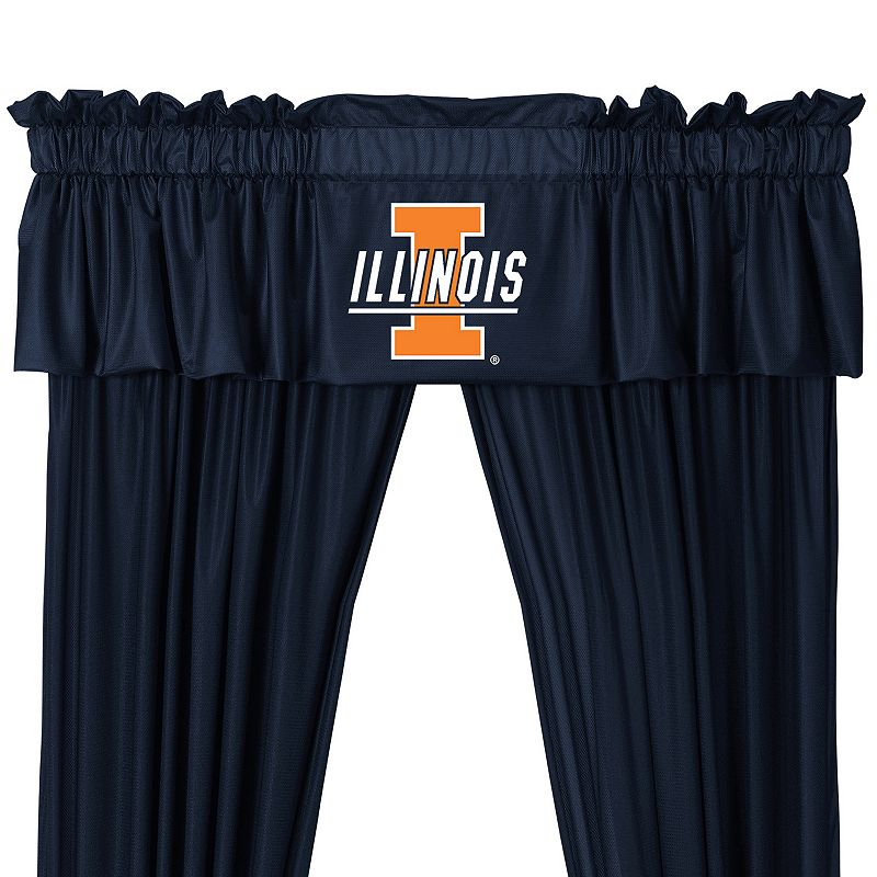 Illinois Fighting Illini Valance - 14