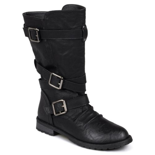 Journee Collection Faith Midcalf Boots - Women