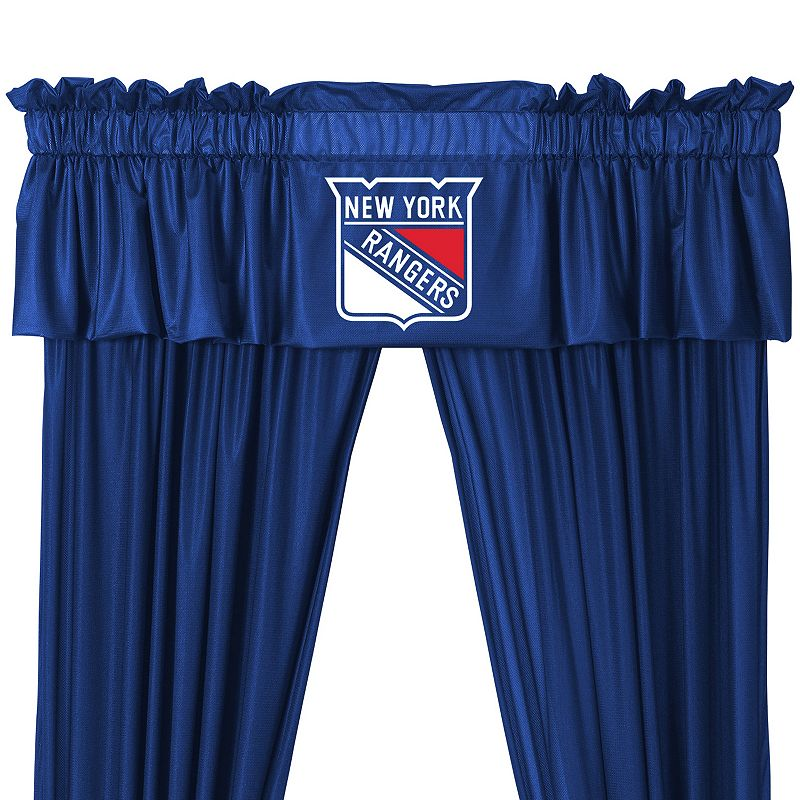 New York Rangers Valance - 14'' x 88''