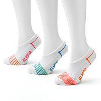 Converse Made For Chucks 3-pk. Striped No-Show Socks