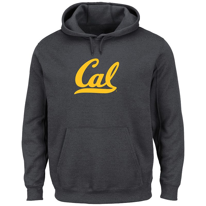 Men's Section 101 by Majestic Cal Golden Bears Change History Fleece Hoodie
