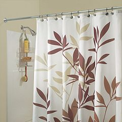 Leaves Fabric Shower Curtain by