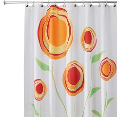 Marigold Fabric Shower Curtain by