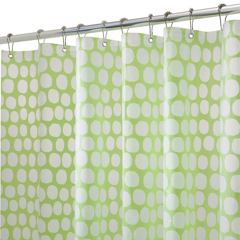 Honeycomb PEVA Shower Curtain