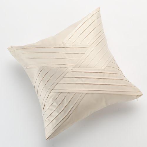 Jennifer Lopez bedding collection Porcelain Pintuck Decorative Pillow