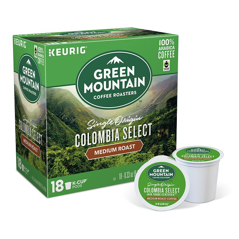 Keurig® K-Cup® Pod Green Mountain Coffee Colombian Fair Trade Select Decaf Coffee - 18-pk.