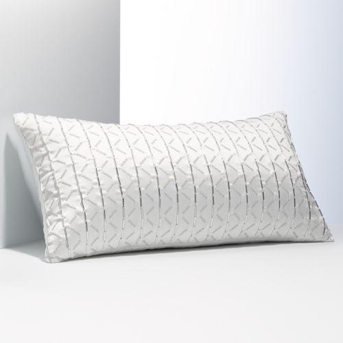 Simply Vera Vera Wang Dimensional Beaded Decorative Pillow