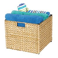 Household Essentials Wicker Storage Bin