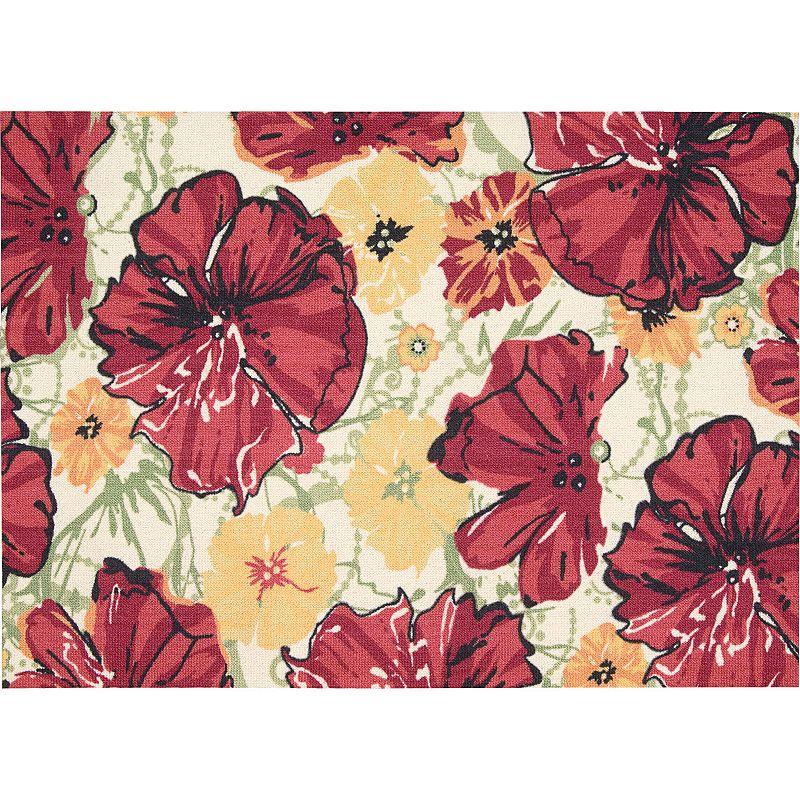 Nourison Vista Floral Rug - 4' x 6'