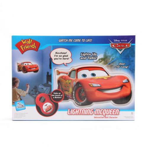Disney / Pixar Cars Lightning McQueen Interactive Wall Character by Uncle Milton