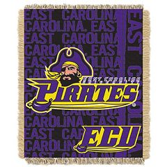East Carolina Pirates Jacquard Throw Blanket by Northwest