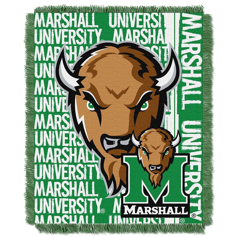 Marshall Thundering Herd Jacquard Throw Blanket by Northwest