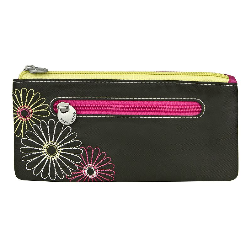Travelon RFID-Blocking Daisy Clutch Wallet