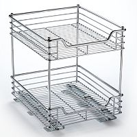 Glidez 2-Tier Sliding Under-Cabinet Organizer