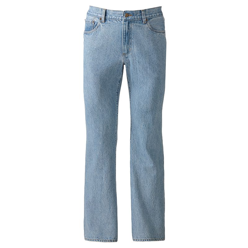 Big & Tall Croft & Barrow® Classic-Fit 5-Pocket Jeans