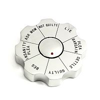 Legal Spinner Decision-Maker Paperweight