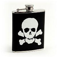 Bey-Berk Skull & Bones Flask
