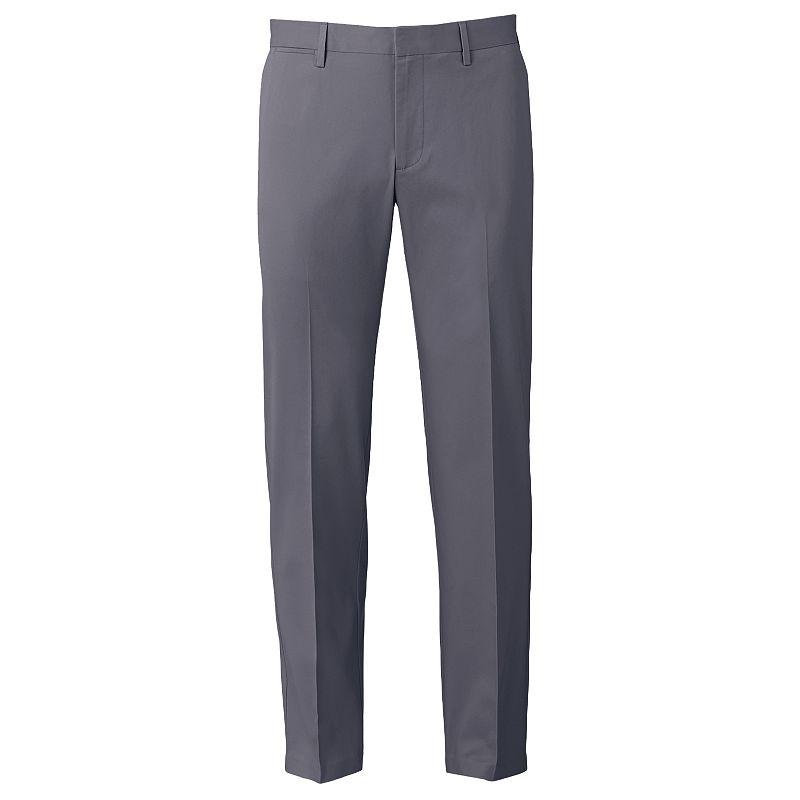 Men's Apt. 9® Slim-Fit Performance Stretch Chino Flat-Front Pants