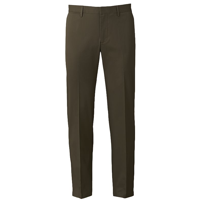 Men's Apt. 9® Slim-Fit Performance Stretch Chino Flat-Front Pants
