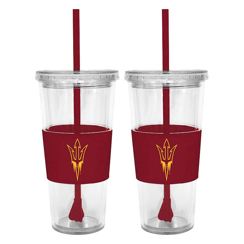Arizona State Sun Devils 2-pc. Double-Walled Straw Tumbler Set
