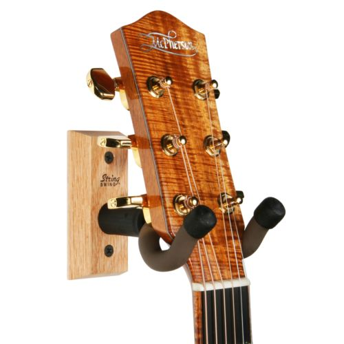 String Swing Hardwood Home and Studio Guitar Keeper
