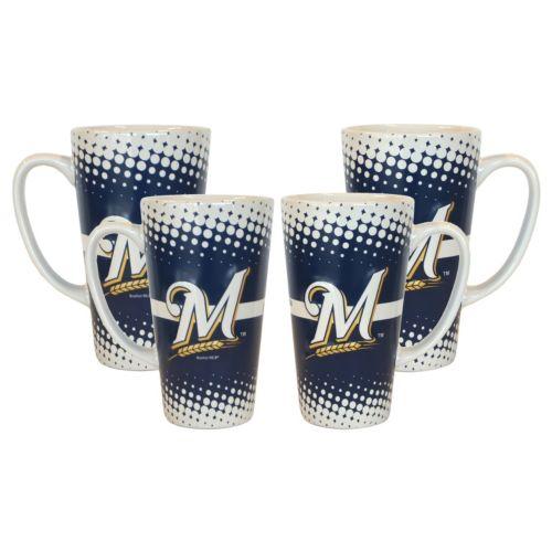 Milwaukee Brewers 4-pc. Latte Mug Set
