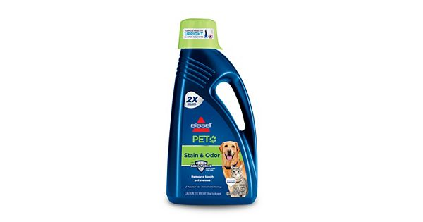 bissell deep clean pet instructions
