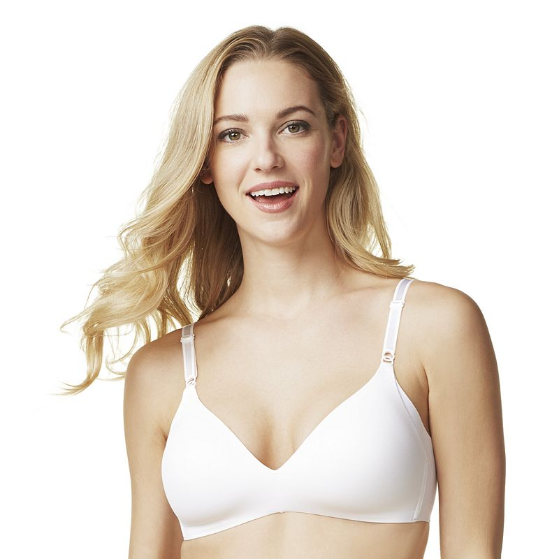 Warner's Bra: No Side Effects Underarm-Smoothing Wire-Free Bra 1056 - Women's