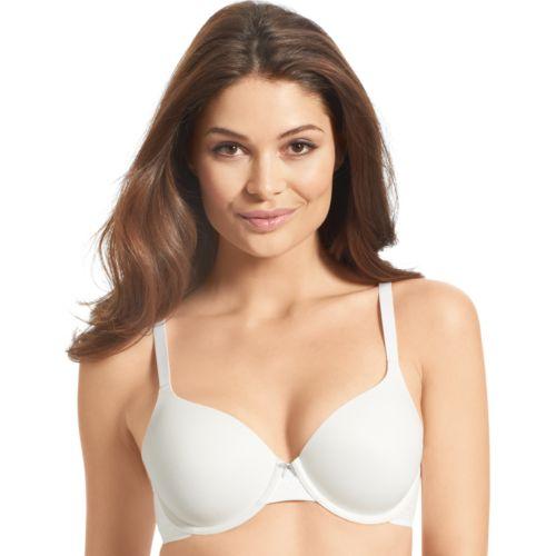 Warner's Bra: Your Bra Lace Trim Full-Coverage Contour T-Shirt Bra 1536S - Women's