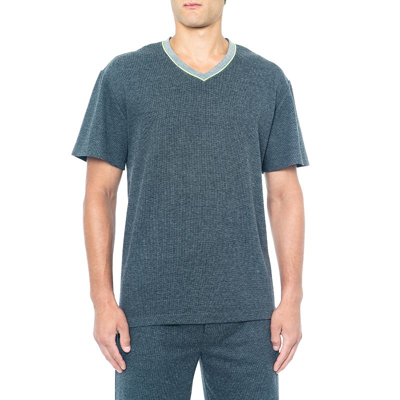 Big & Tall Residence Double-Knit Easy-Care V-Neck Tee
