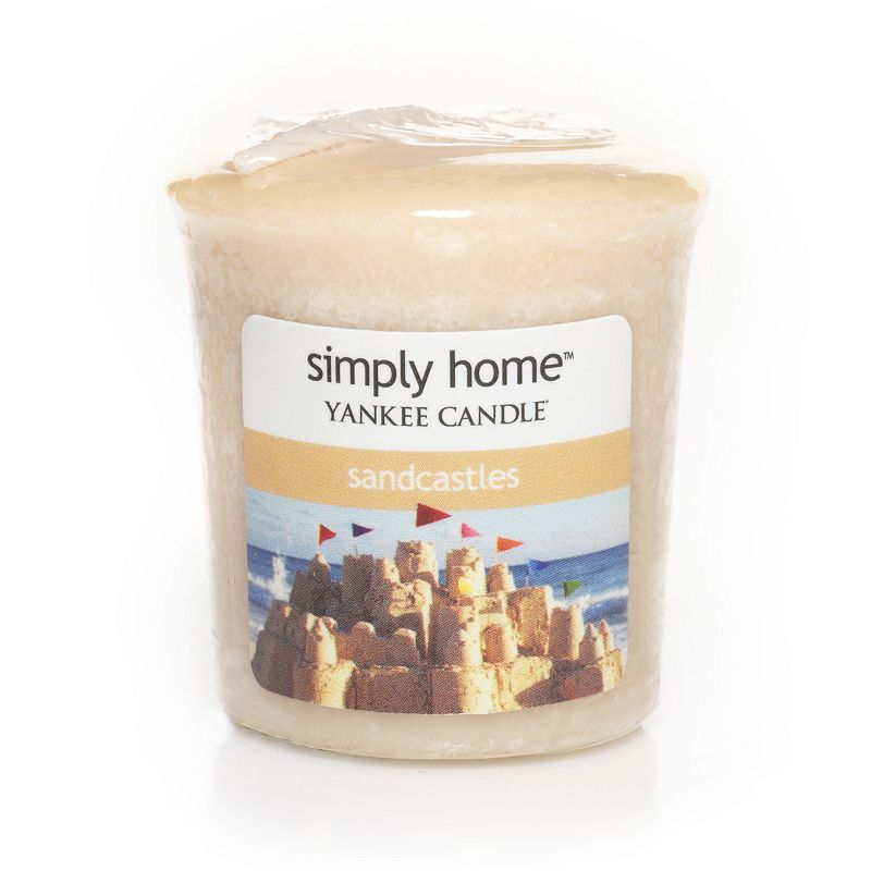 Yankee Candle simply home Sandcastles Votive Candle
