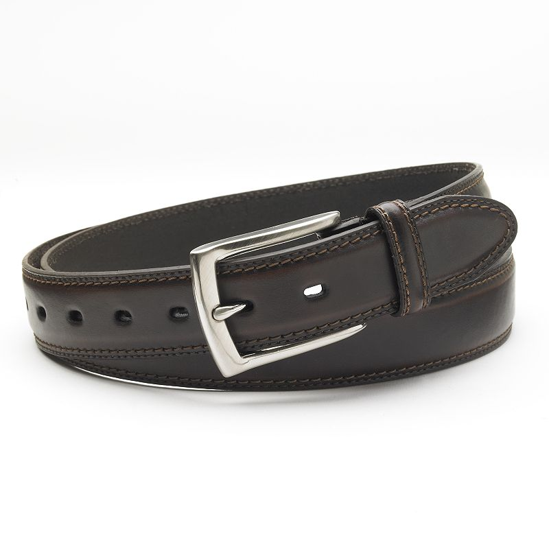 Dockers® Stretch & Stitch Leather Belt - Big & Tall