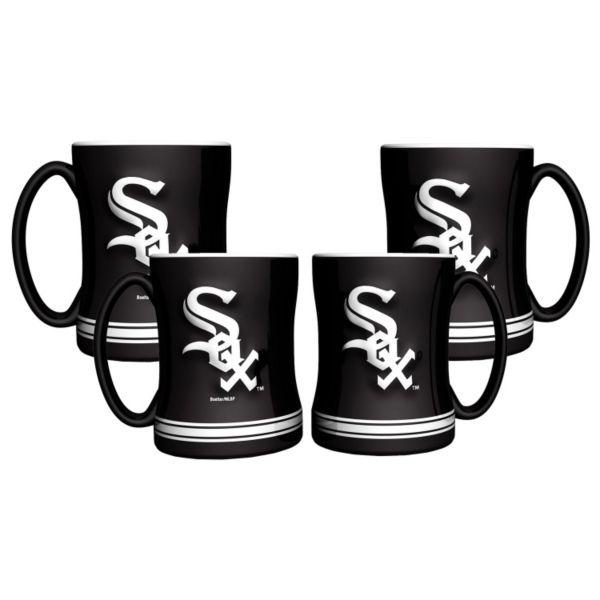 Chicago White Sox 4-pk. Sculpted Relief Mug