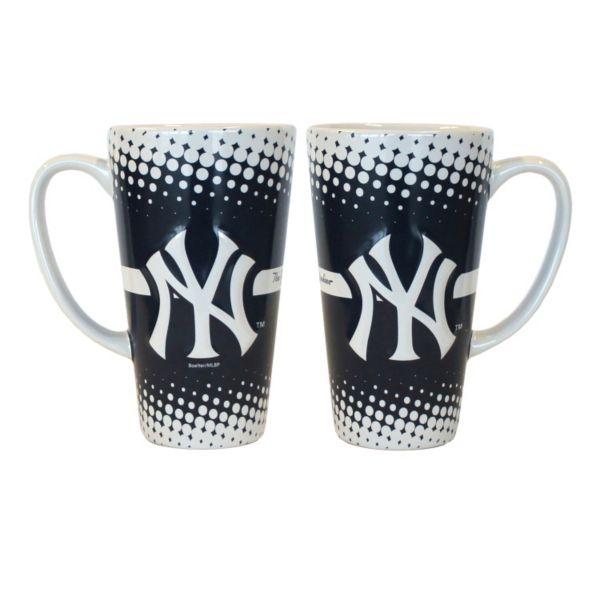 New York Yankees 2-pk. Latte Mug Set