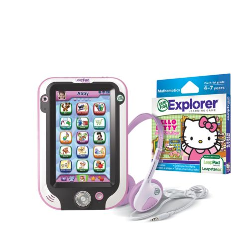 LeapFrog LeapPad Ultra Pink Tablet, Hello Kitty Game and Headphones Gift Set