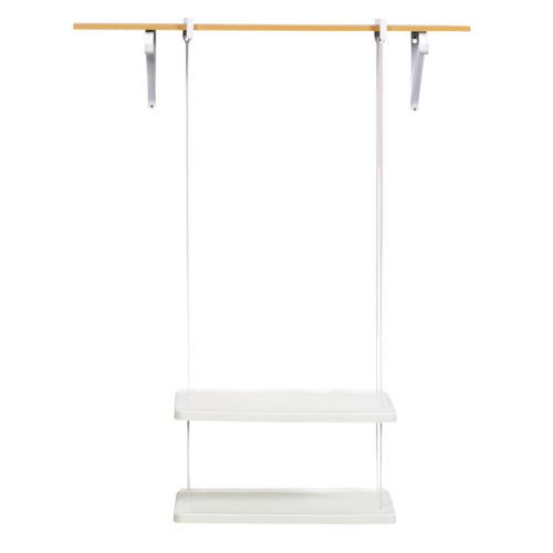 Rubbermaid 2-Shelf Closet Helper