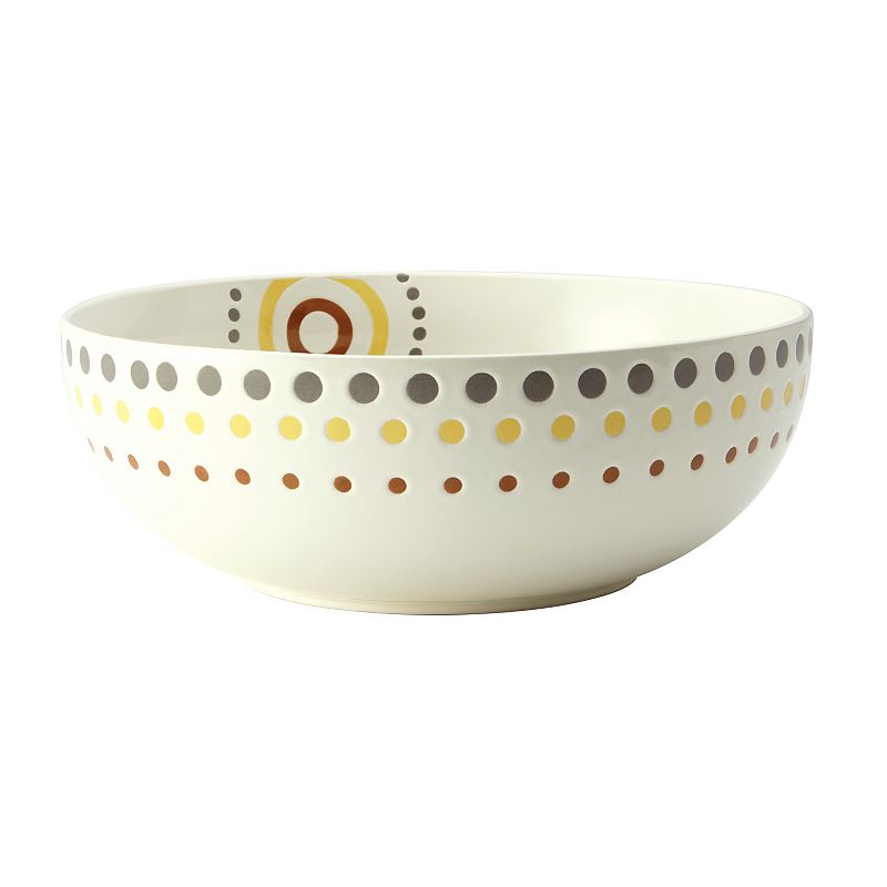 Rachael Ray Circles and Dots 10-in. Serving Bowl