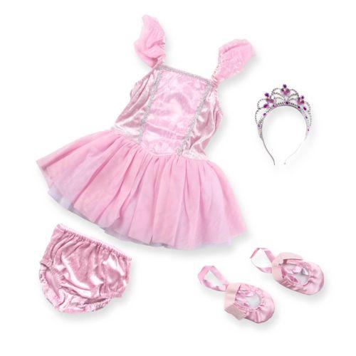 Melissa and Doug Ballerina Role Play Costume Set - Girls