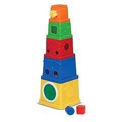 Melissa & Doug K's Kids Stacking Blocks by