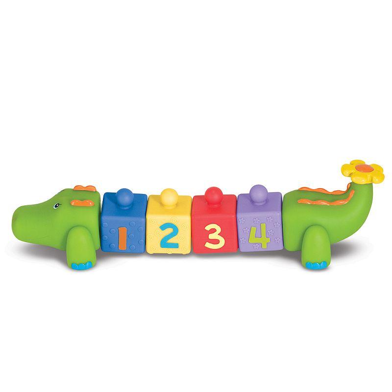Melissa and Doug K's Kids Pop Blocs Crocodile